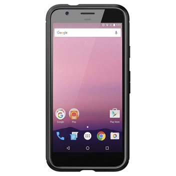 Spigen Rugged Armor Google Pixel Tough Case - Black