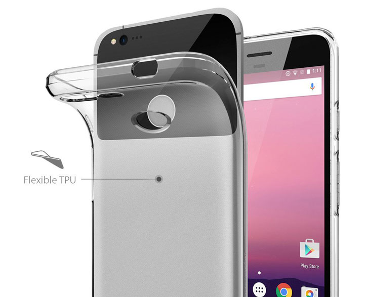 Spigen Liquid Crystal Google Pixel XL Shell Case - Clear