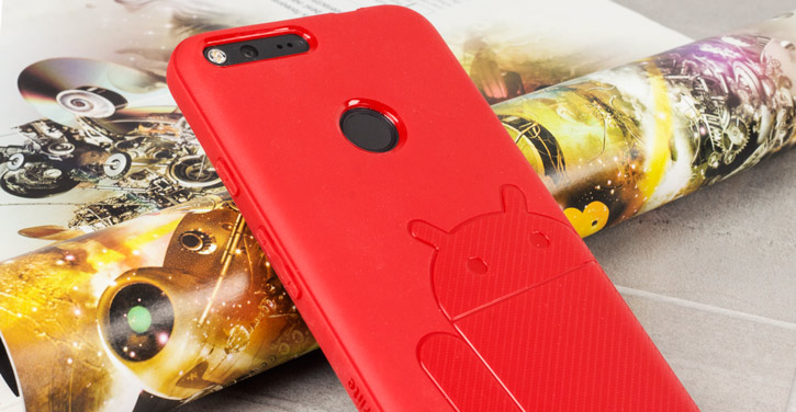 Cruzerlite Androidified A2 Google Pixel XL Case - Red