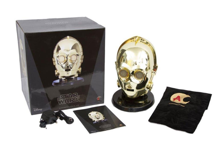 Official Star Wars C-3PO Head Bluetooth Speaker