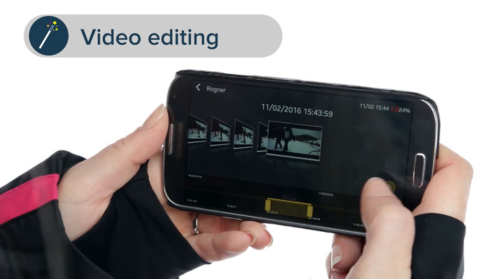 RoadEyes RecSMART Full HD Wi-Fi Dash Camera - Black