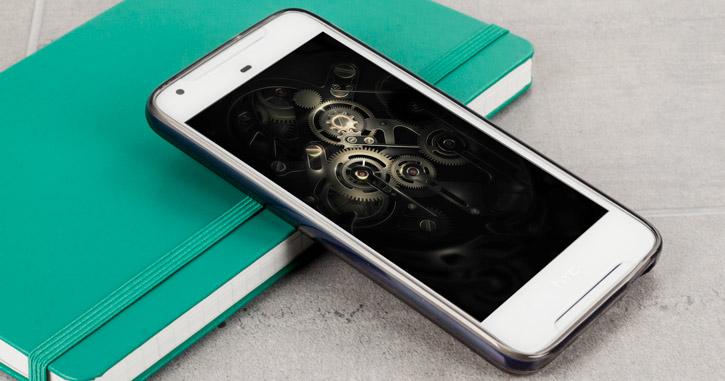 Olixar Flexishield HTC Desire 628 Gel Case - Smoke Black