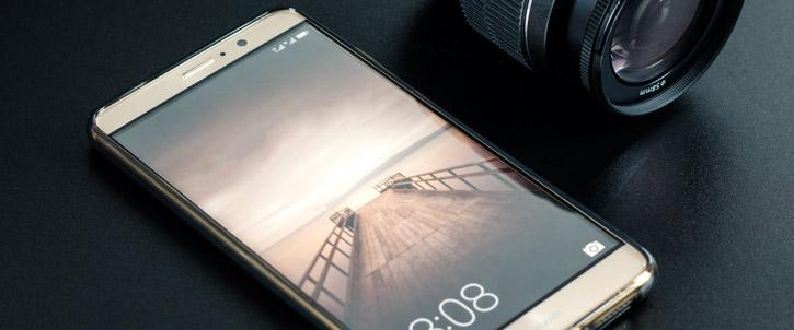 Olixar FlexiShield Huawei Mate 9 Gel Case - Smoke Black