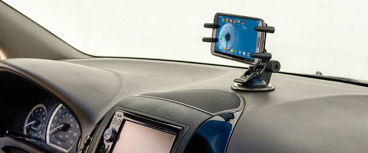 Arkon Slim-Grip Ultra Windshield Or Dash Phone Car Mount