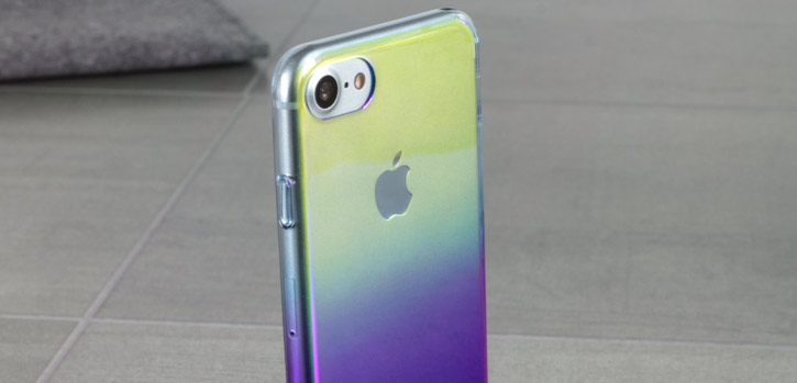 Olixar Iridescent Fade iPhone 7 Case - Purple Haze