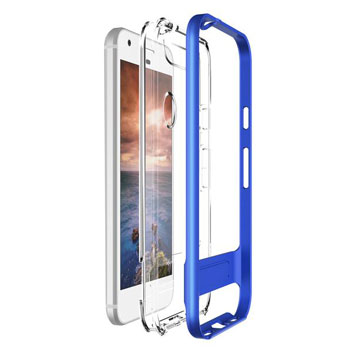 VRS Design Crystal Bumper Google Pixel Case - Really Blue