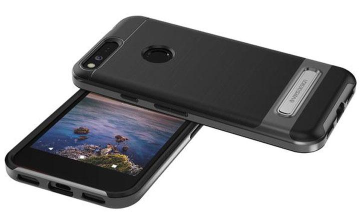 VRS Design High Pro Shield Google Pixel Case - Dark Silver