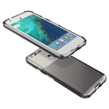 Spigen Neo Hybrid Crystal Google Pixel Premium Case - Gunmetal