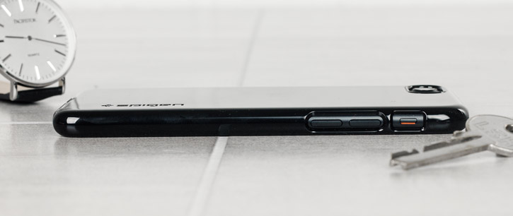 Spigen Thin Fit iPhone 7 Shell Case - Jet Black