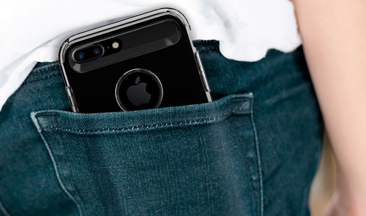 Spigen Slim Armor iPhone 7 Plus Tough Case - Jet Black