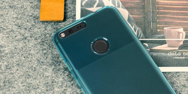 Olixar FlexiShield Google Pixel XL Gel Case - Light Blue