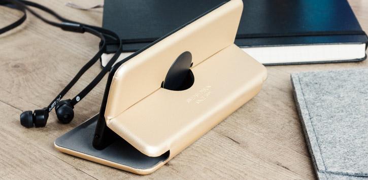 Kursell Orsa Universal 4XL Leather-Style Folio Case - Black