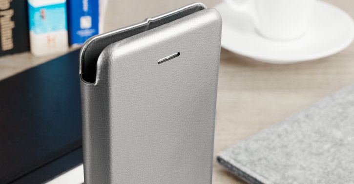 Krusell Orsa Universal 4XL Leather-Style Folio Case - Silver