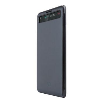 premium selection 78662 92e9f Official LG V20 QuickCover Folio Case - Black