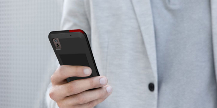 Love Mei Powerful Sony Xperia XZ Protective Case - Black