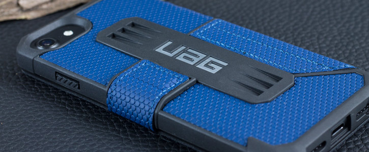 UAG Metropolis Rugged iPhone 7 Wallet Case - Blue