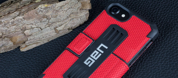 UAG Metropolis Rugged iPhone 7 Wallet Case - Red
