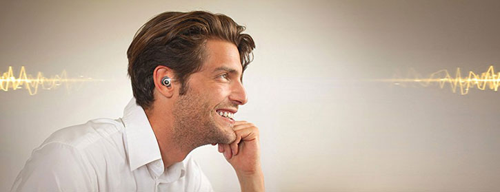 Erato Apollo 7 Bluetooth Earphone - Liquid Silver