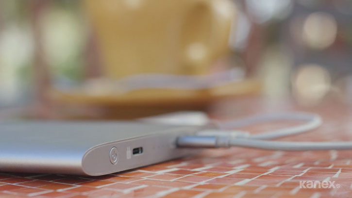 Kanex GoPower USB-C Portable 15000mAh Power Bank - Grey