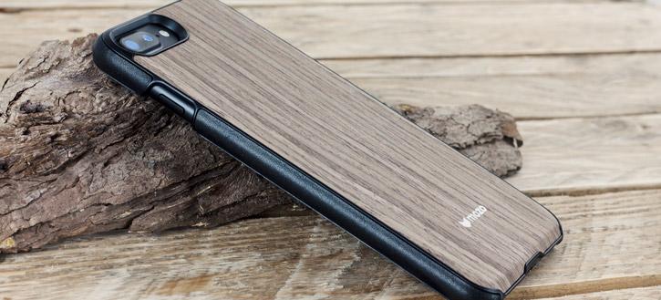 pretty nice fc709 decda Mozo iPhone 7 Plus Genuine Wood Back Cover - Black Walnut