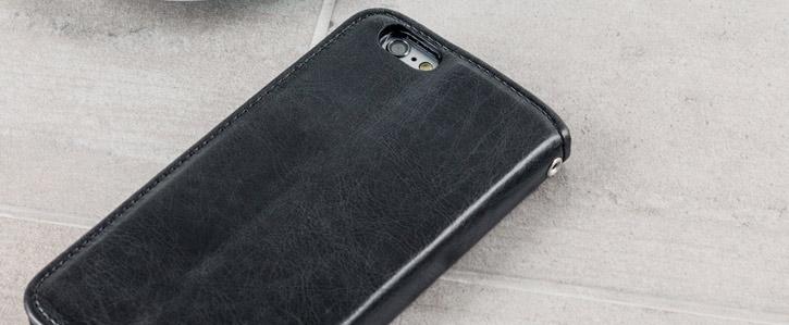 Zizo Leather Style iPhone 6S / 6 Wallet Case - Black