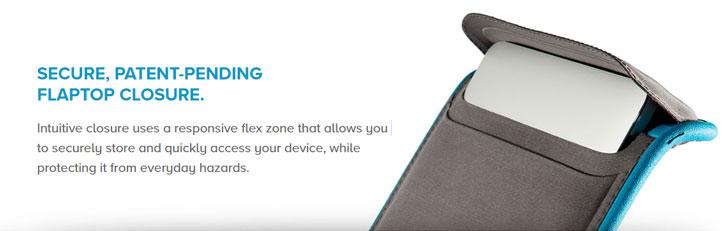 Speck Flaptop MacBook Pro Retina 15-inch Sleeve - Black / Slate Grey