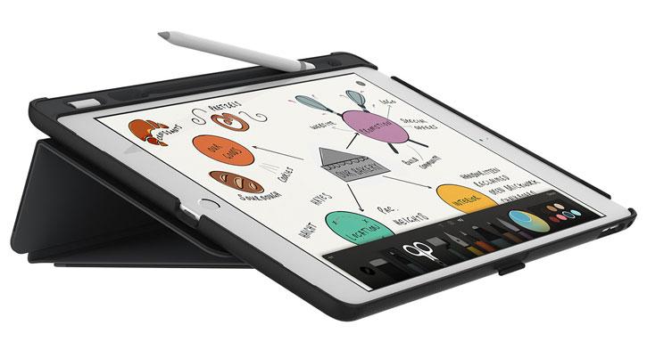 Speck StyleFolio Pencil iPad Pro 9.7 inch Case - Black / Grey