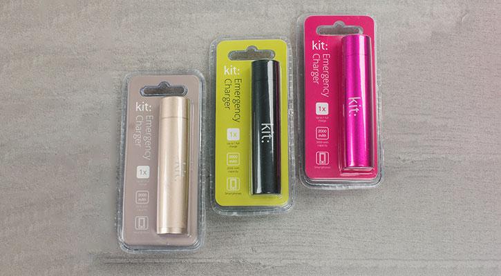 Kit: Premium Universal Power Bank 2,000mAh - Three Pack