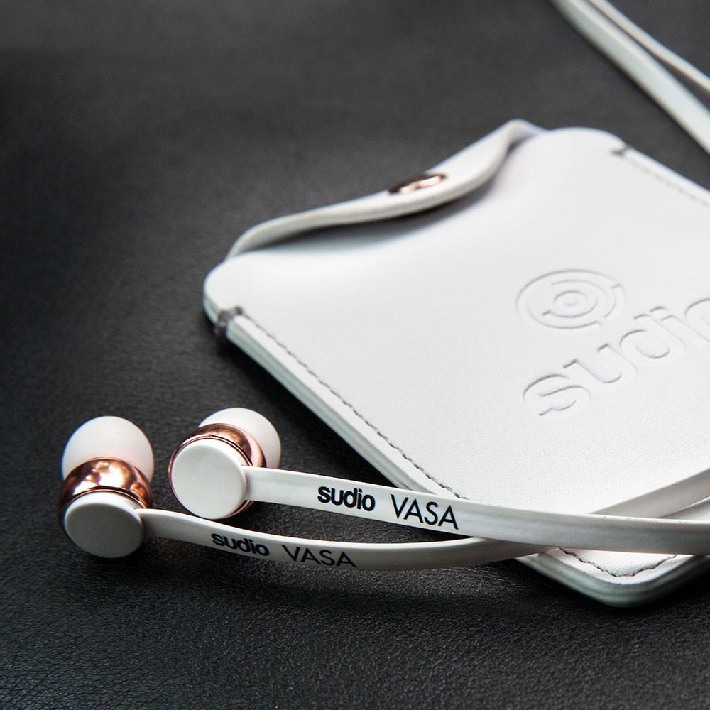 Sudio VASA Earphones For Android - Rose Gold / Black