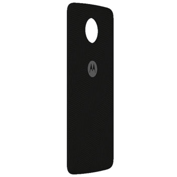 Official Motorola Moto Z Shell Nylon Fabric Back Cover - Heringbone
