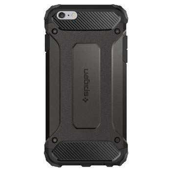 Spigen Tough Armor Tech iPhone 6S / 6 Case - Metal Slate