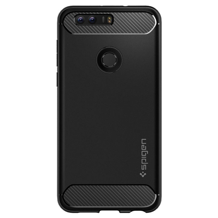Spigen Rugged Armor Huawei Honor 8 Tough Case - Black