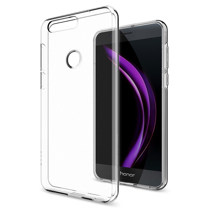 Spigen Liquid Crystal Huawei Honor 8 Case - Clear
