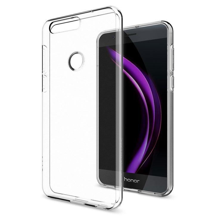 Spigen Liquid Crystal Huawei Honor 8 Skal - Klar