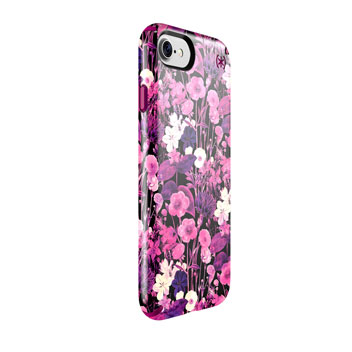 Speck Presidio Inked iPhone 7 Case - Magenta / Pink Flower