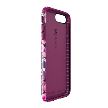 Speck Presidio Inked iPhone 7 Plus Case - Metallic / Magenta Pink