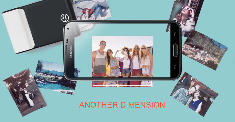 Prynt iPhone 7 / 6S / 6 Instant Photo Printer Case - White