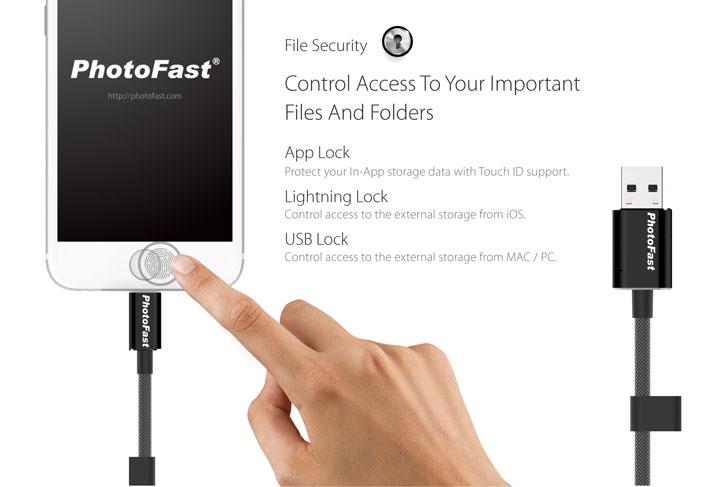 PhotoFast MFi Lightning MemoriesCable Gen 3 - USB 3.0 - 32G