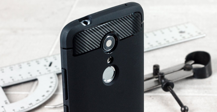 Spigen Rugged Armor ZTE Axon 7 Tough Case - Black
