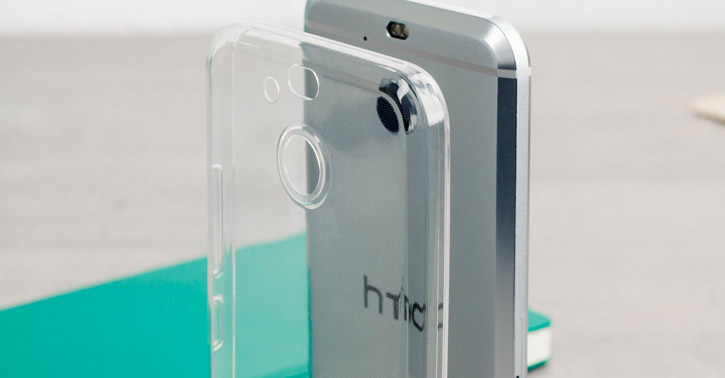 Olixar Ultra-Thin HTC Bolt / 10 evo Gel Case - Crystal Clear