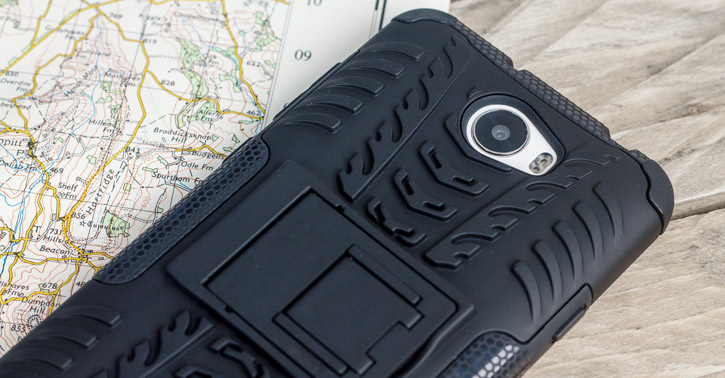 Olixar ArmourDillo Huawei Y5II Tough Case - Black