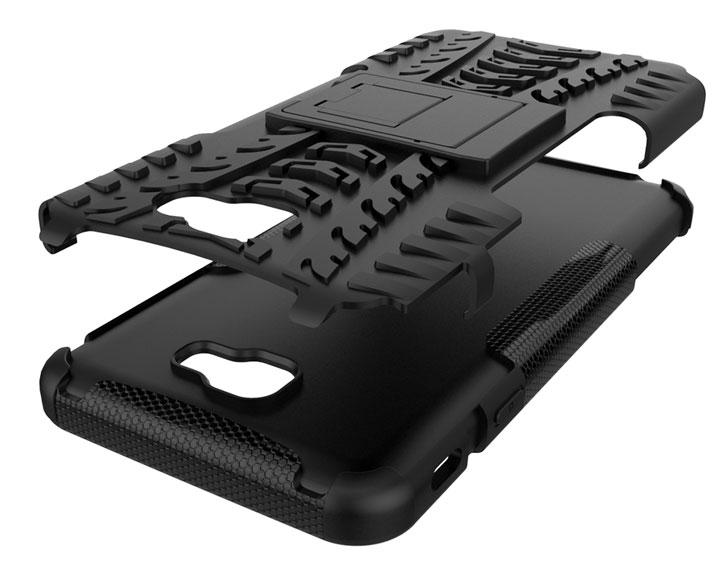 Olixar ArmourDillo Samsung Galaxy J7 Prime Tough Case - Black