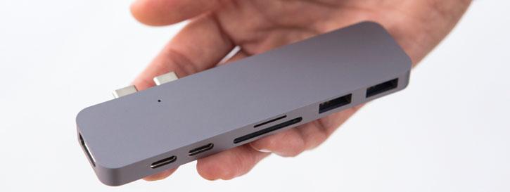 HyperDrive Compact Thunderbolt 3 USB-C MacBook Pro Hub