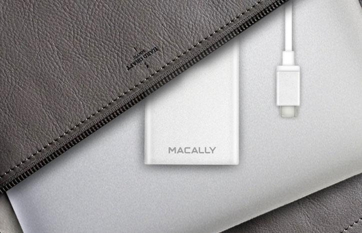 Macally USB-C 4-Port USB 3.0 Hub