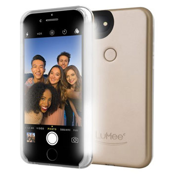 LuMee Two iPhone 7 / 6S / 6 Selfie Light Case - Gold