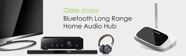 Avantree Oasis Long Range Bluetooth Audio Adapter