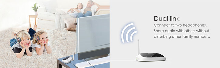 Avantree Oasis Long Range Bluetooth Audio Adapter