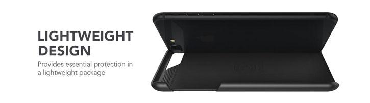 VRS Design Simpli Mod Genuine Leather iPhone 7 Plus Case - Black