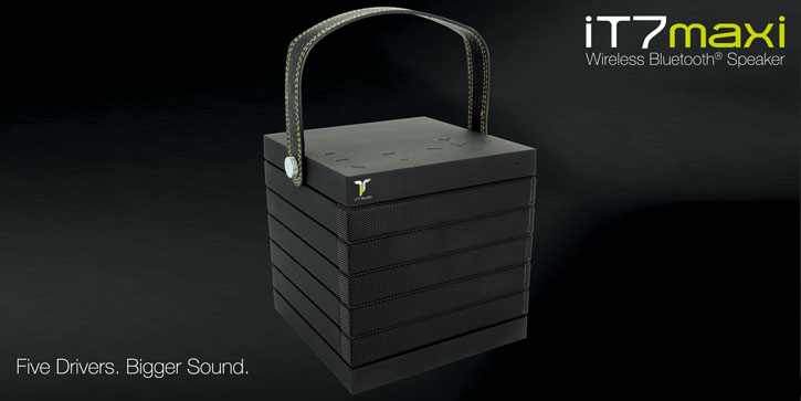Altavoz bluetooth iT7 Audio iT7Maxi - Negro