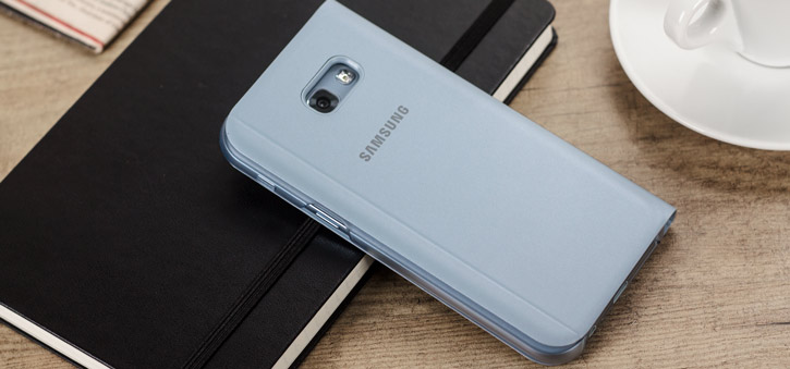 Official Samsung Galaxy A5 2017 S View Premium Cover Case - Blue
